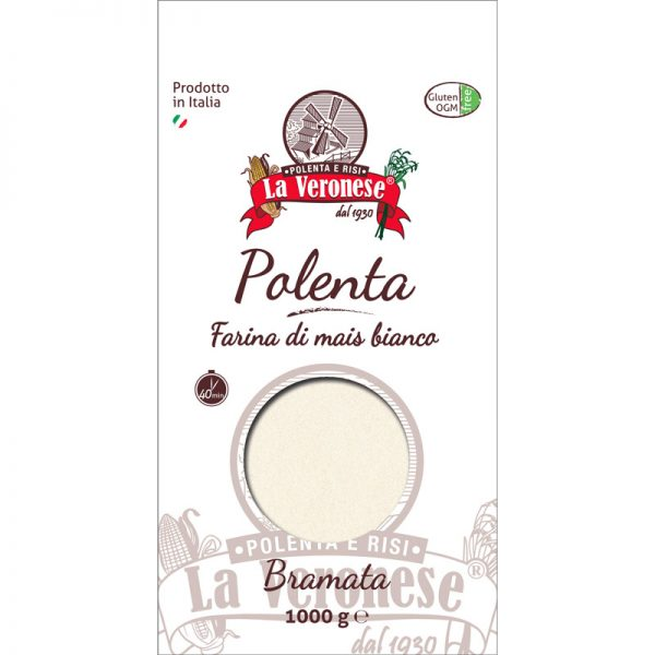 Flour for traditional Polenta