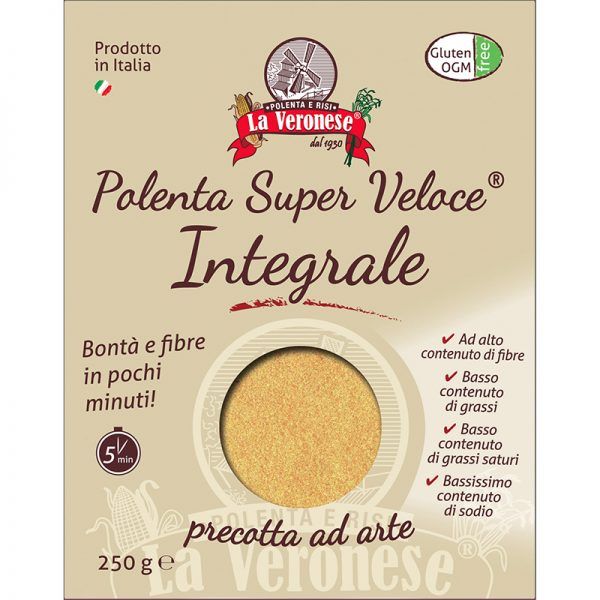 Flour for superfast Polenta